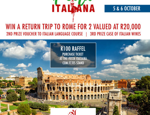 WIN a R20,000 Trip to Rome for 2