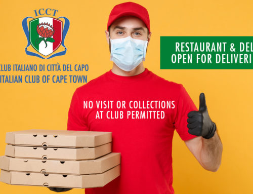 Italian Club Restaurant & Deli Open for Deliveries Only